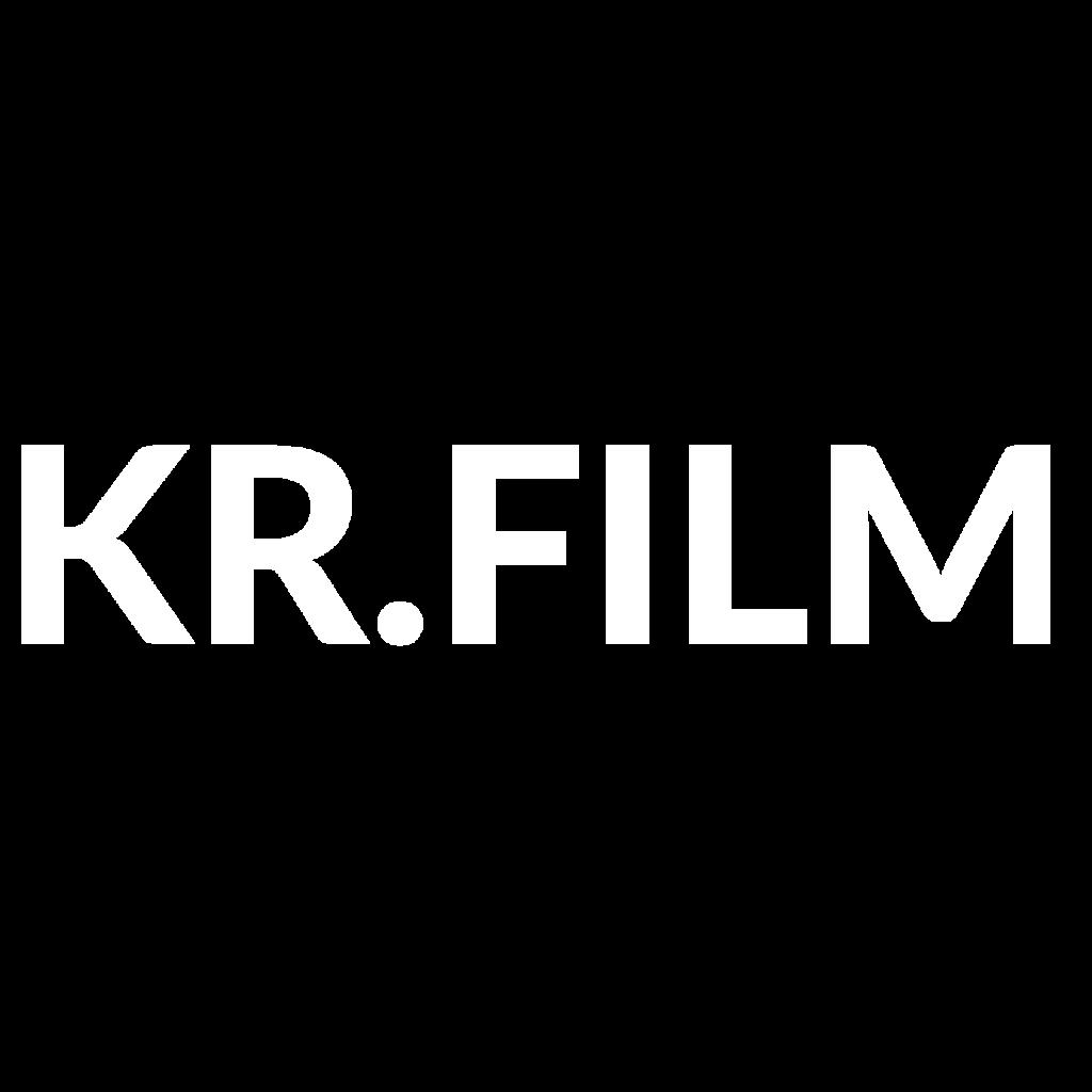 KR.FILM Logo, weiß
